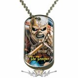 Iron Maiden - Trooper - Dog Tags . DT030.  medál, dog tag.