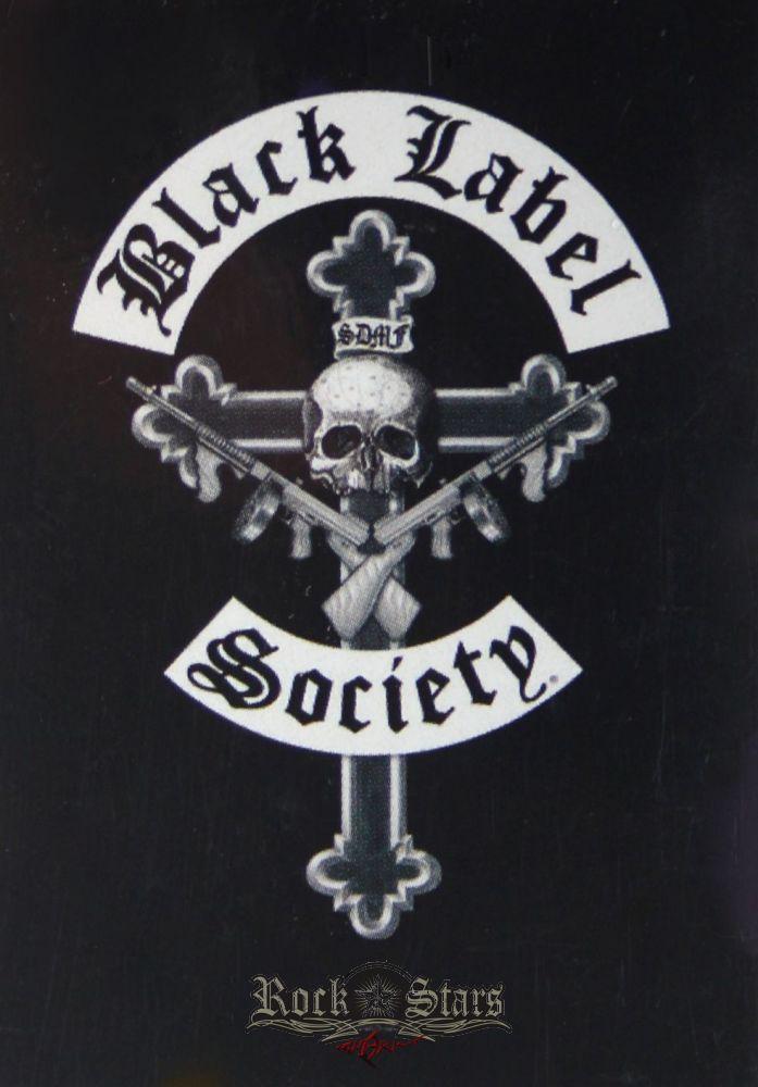 652cbcad60 Black Label Society - Cross logo. zenekaros zászló - Shark n Roll ...