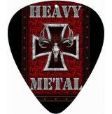 HEAVY METAL.  pengető nyaklánc