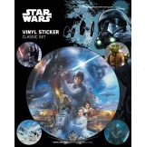 STAR WARS (CLASSIC). Vinyl stickers. matrica szett
