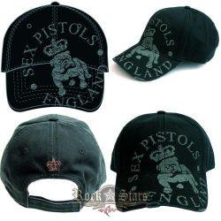 Sex Pistols - Baseball Cap - Bull Dog England.   baseball sapka