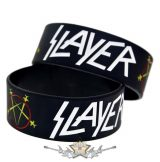 SLAYER -  Rubber Wristband.   szilikon karkötő