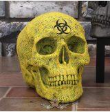 Biohazard Skull 18cm.  B4000K8.  koponya figura