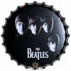 The Beatles - Metal Wall Sign - Face. 40.cm.   fém tábla kép