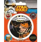 STAR WARS REBELLION. Vinyl stickers. matrica szett