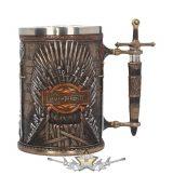 GAME OF THRONES - Iron Throne Tankard (GOT) 14cm.   korsó, kehely