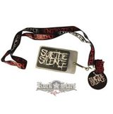 SUICIDE SILENCE - LOGO  stage pass - kulcstartó