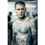 PRISON BREAK - TATTOO plakát, poszter