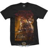 Star Wars - Unisex Tee. Episode VII Chewbacca Composition .     filmes  póló