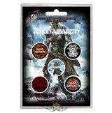 Amon Amarth - 'Jomsviking' Button Badge Pack.   jelvényszett