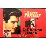 ELVIS PRESLEY - JAILHOUSE ROCK.  20X30.cm. fém tábla kép