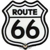 ROUTE 66 - LOGO. hátfelvarró