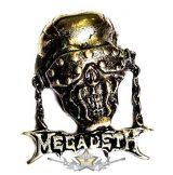 MEGADETH -  LOGO.  nyaklánc, medál