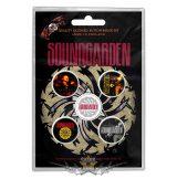 Soundgarden - Button Badge Pack.  Badmotorfinger.   jelvényszett