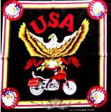 BIKER USA. JJK.  vékony nyári vászon kendő