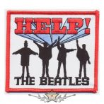 The Beatles - Standard Patch - Help!.    import zenekaros felvarró