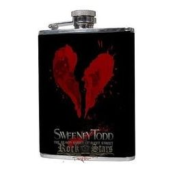 SWEENEY TODD - LOGO Hip Flask.   flaska
