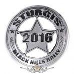 Sturgis Motorcycle Rally Badge Pin. USA import motoros fém  jelvény