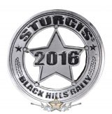 Sturgis Motorcycle Rally Badge Pin. USA import motoros fém  jelvény
