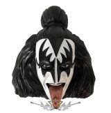 KISS - The Demon. Gene Simmons Magnet. 5,2. cm.  hűtőmágnes