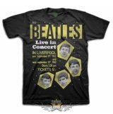The Beatles - Unisex Premium Tee - 1962 Live in Concert  zenekaros  póló.