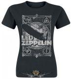 LED ZEPPELIN - SHOOK ME.   női zenekaros póló