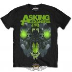Asking Alexandria - Unisex Tee - TSth.  zenekaros  póló.