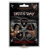 GREEN DAY - REVOLUTION RADIO Plectrum Pack. gitárpengető szett