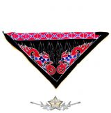 Háromszög formájú  kendő.- Southern flag.    vászon kendő