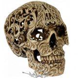 Koponya - Celtic tört mintázat. BE.  koponya figura