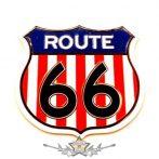 ROUTE 66 - Colour.  fém matrica, mágnes
