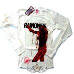 RAMONES - LIMITED EDITION. Sorszámozott póló. zenekaros póló