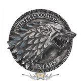 GAME OF THRONES - House Stark Magnet 6cm.  3D. fantasy dísz, hütőmágnes