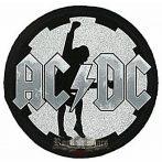 AC/DC - ANGUS ROUND.  BPIM..  hátfelvarró