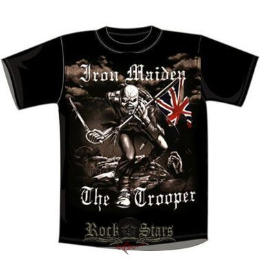 IRON MAIDEN - TROOPER. zenekaros póló - Shark n Roll - Rock- Metal ... 0ada2d5311