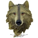 Farkas fej - Wolf Hanging Decoration. koponya figura