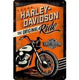 HARLEY DAVIDSON - The Original Ride.20X30.cm. fém tábla kép
