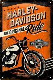 HARLEY DAVIDSON - The Original Ride.20X30.cm. fém tábla kép