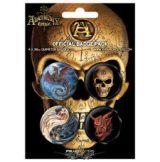 ALCHEMY - Badge Pack.   jelvényszett