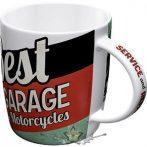 BEST GARAGE - SERVICE & REPAIRS.  porcelán  bögre