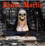 Mortis nővér - csontváz apáca horror mellszobor figura Sister Mortis  29cm.   koponya figura,