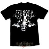 AVENGED SEVENFOLD - BAT SKULL  póló