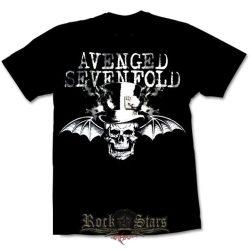 AVENGED SEVENFOLD - BAT SKULL  póló