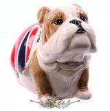 Bulldog Union Jack.   akciófigura, persely