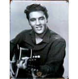 ELVIS PRESLEY. 30x40.cm. fém tábla kép