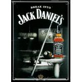 Jack Daniels - Metal Sign Pool Room. 30x40.cm. fém tábla kép