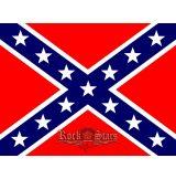 REBEL - SOUTH FLAG. FV76A.  felvarró