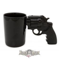 3 D. Revolver - Pisztoly  bögre díszdobozban