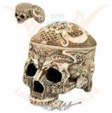 Tebetian skull box - koponya doboz. 766-7048. koponya figura