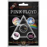 Pink Floyd - Button Badge Pack Prism.  jelvényszett